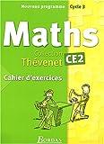 echange, troc Serge Thévenet, Annie Debailleul, Josiane Hélayel, Eric Lenoir, Collectif - Cahier d'exercices Thévenet 2004 : Mathématiques, CE2