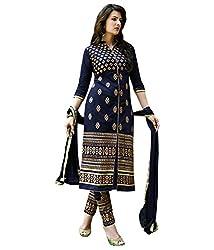 Govardhan Fashion RoyalBlue colour cottan Unstitched Dress Material