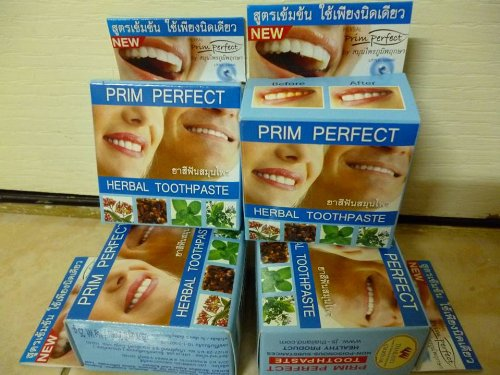 Prim Perfect Herbal Toothpaste