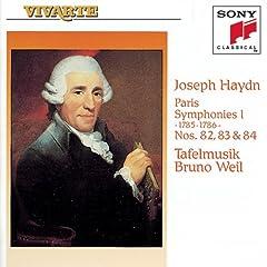 Joseph Haydn: Paris Symphonies Nos. 82, 83, 84 [US-Import]