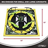 Heliport Ops Landing Pad Launch Pad: Remote Control Helicopters, Quadcopters, Mini Racing Drones, Multi-rotor flight with Camera