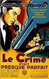 echange, troc Le Crime était presque parfait [VHS]