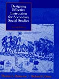 Designing effective instruction for secondary social studies /