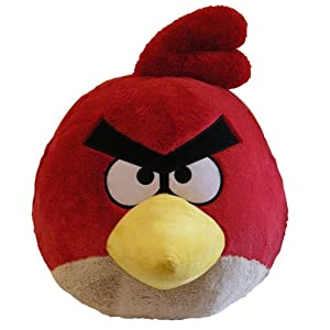 Universal Trends CW90800 - Angry Birds Plüsch 40 cm, rot