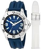 Nautica Mens N12633G NAC 102 Date Box Set Classic Analog Watch