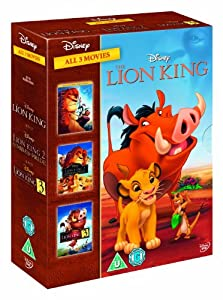 The Lion King Trilogy - Triple Pack [DVD]