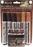 12 Piece Furniture Repair System Restore Scratched Furniture Any Wood Surface - No Need to use Wood Filler