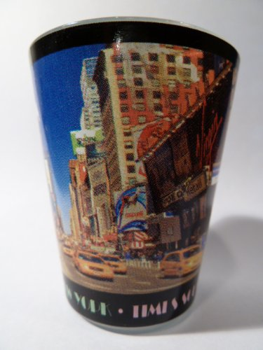 New York City Postcard 217 Shot Glass
