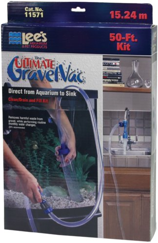 Lee's The Ultimate Gravel Vac 50' Kit (Fish Tank Vac compare prices)