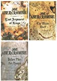 Joe Abercrombie First Law books: 3 books: Book 1, Book 2, Book 3, (The Blade ...