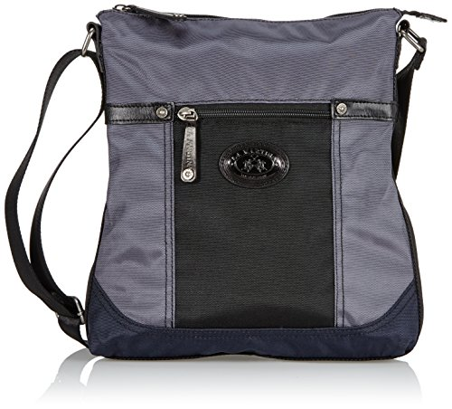 La Martina Crossbody, Grigio Scuro