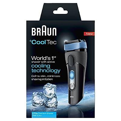 Braun Cooltec 2S Shaver (Black/Blue)