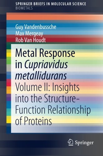 Metal Response in Cupriavidus metallidurans: Volume II: Insights into the Structure-Function Relationship of Proteins (S
