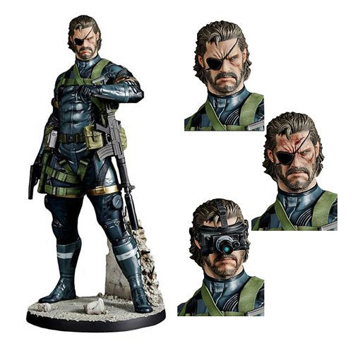 Metal Gear Solid 5 Ground Zeroes Snake 1:6 Scale Statue