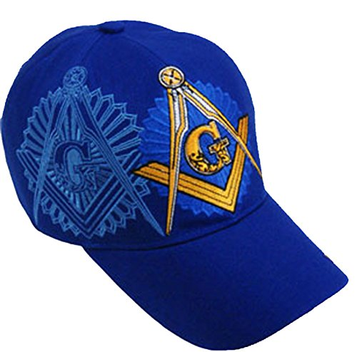 mason-hat-masonic-blue-baseball-cap-freemason-w-free-bcah-bumper-sticker