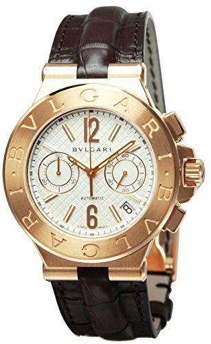 [ブルガリ]BVLGARI 腕時計  ディアゴノ 自動巻 K18PG無垢 DGP40C6GLDCH メンズ 【並行輸入品】