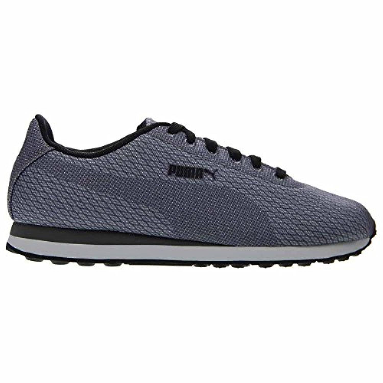 Puma-Mens-Turin-Woven-Print-Fundamental-Shoes-Limestone-