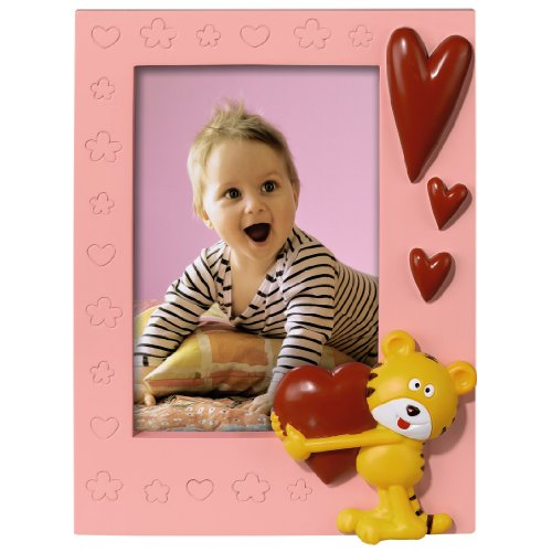 Hama Plastic Tiger Heart 10x15cm Photo Frame