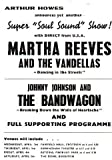 MARTHA REEVES AND THE VANDELLAS REPRODUCTION CONCERT PROMO PHOTO POSTER 16X12
