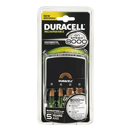 Duracell Ion Speed 8000 Battery Charger 1 Count (Duracell Ion Speed 8000 compare prices)