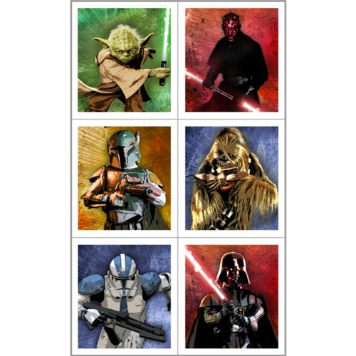 Star Wars Party Favors - Star Wars Stickers