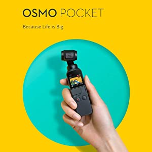 Osmo Pocket Handheld Camera 3 Axis Gimbal Stabilizer 4K Compatible with DJI OSMO/Smartphone / Android/Phone (Osmo Pocket+32G SD Card) (Tamaño: Osmo Pocket+32G SD card)