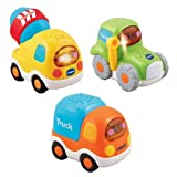 VTech Baby Toot-Toot Drivers Construction Vehicles 3-Car Pack