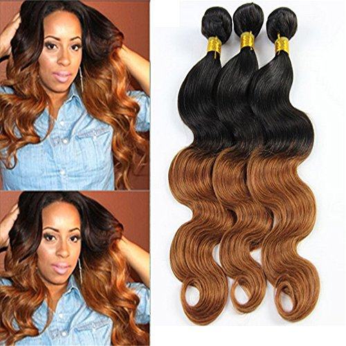 E-forest-hair-Weave-For-Women-7A-Virgin-100-Brazilian-Remy-Human-Hair-WeftWeave-Extension-Body-Wave-1BT30-Color-3-Bundles-300g-SD-02-Size-10-10-10