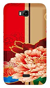 TrilMil Printed Designer Mobile Case Back Cover For Huawei Honor BEE