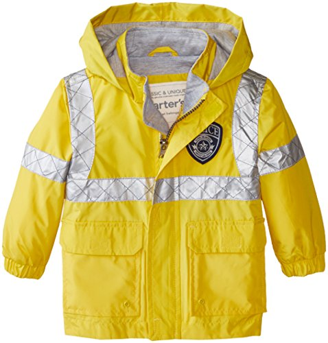 Carter's Baby Boys' Infants Lightweight Single Jacket, Yellow, 18 Months