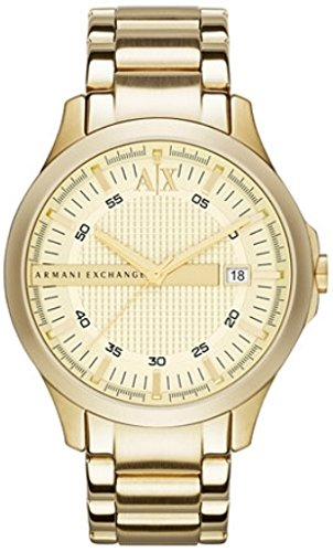 Armani Exchange Gold-Tone Mens Watch AX2131