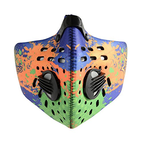 Rockbros-Cycling-Bike-Anti-dust-Mask-Half-Face-Mask-with-Filter-Neoprene