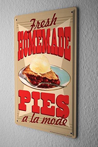 Cartel de chapa placa metal tin sign decoraci n for Decoracion de tortas caseras