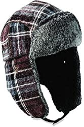 Woolrich Woolrich Chnille Aviator w/ Faux Fur Lining and Earflaps (Chocolate) Caps