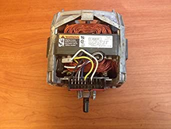 OEM Factory Whirlpool Part # 8528157 - 2 Speed Drive Motor For Whirlpool Kenmore Maytag Sears Brand Clothes Washers. Includes New Coupler.