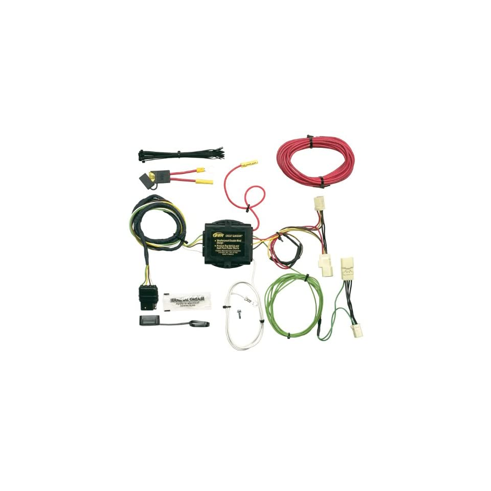 Enjoyable Hopkins 11143335 Vehicle To Trailer Wiring Kit For Toyota Echo Wiring 101 Cranwise Assnl