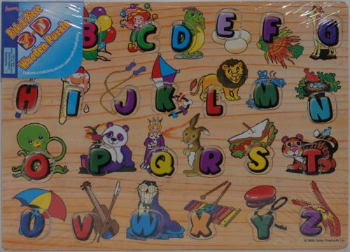 Pick-A-Piece 3-D Wooden Puzzle