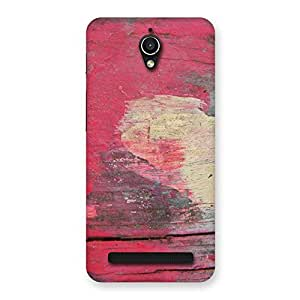 Enticing Vintage Red Yellow Print Back Case Cover for Zenfone Go