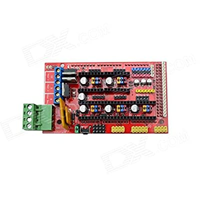Next Robotale RAMPS 1.4 Reprap MendelPrusa 3D Printer Control Board - Red + Black ARD0007