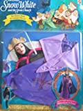 Snow White The Queen Mask & Costume Playset Fits Most Barbie Fashion Dolls (1992)