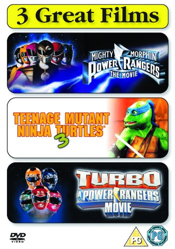 Power Rangers - The Movie/Teenage Mutant Ninja Turtles 3 [DVD]