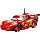Dickie 203089538 - RC Metallic Lightning McQueen, metallic rot