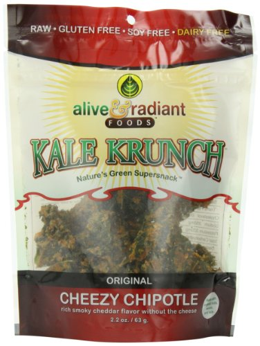 Alive and Radiant Kale Krunch, Cheezy Chipotle,