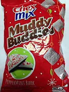 Chex Mix Limited Edition Muddy Buddies Peppermint Bark...4 of 10.5 Bags