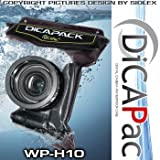 ORIGINAL Unterwassergehäuse, Kameragehäuse, Wasserschutzgehäuse, Unterwasserbag DicaPac WP-H10 für viele Kameramodelle, Hochwertige DiCaPac WP-H10 Unterwassertasche für unten aufgeführte Kameramodelle und viele Kompakt und Mittelformatkameras Canon Nikon Sony Minolta Olympus Pentax Panasonic