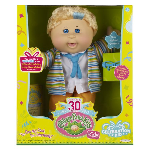 Blonde Glasses Cabbage Patch Kids