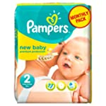 Pampers New Baby Couches Pack Economi...