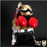Rocky Dancing Hamster Clubber Lang Figure ~ Gemmy
