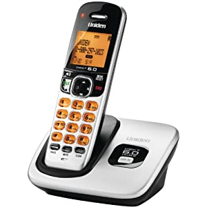 Uniden DECT 6.0 Expandable Cordless Phone with Caller ID - Silver (D1760)