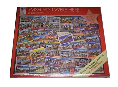 Wish You Were Here 550 Piece Jigsaw Puzzle - 1